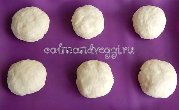 Простые бездрожжевые булочки на йогурте. Рецепт.