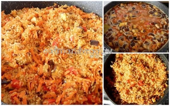 Вегетарианский овощной плов с булгуром постный рецепт с фото пошаговый