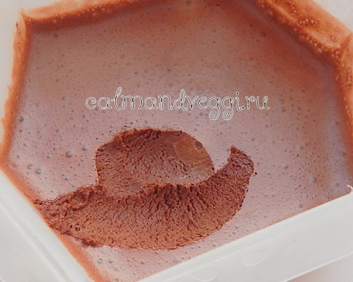 шоколадное веганское мороженое домашнее рецепт