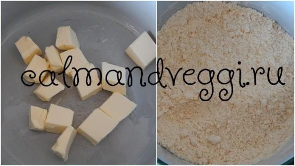 Творожное тесто без яиц, пошаговый рецепт с фото