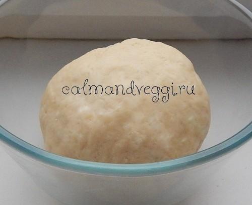 Творожное тесто без яиц - сладкое и несладкое