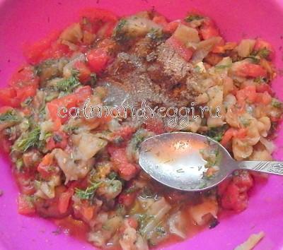 Аджапсандал (аджапсандали) - рецепт в духовке