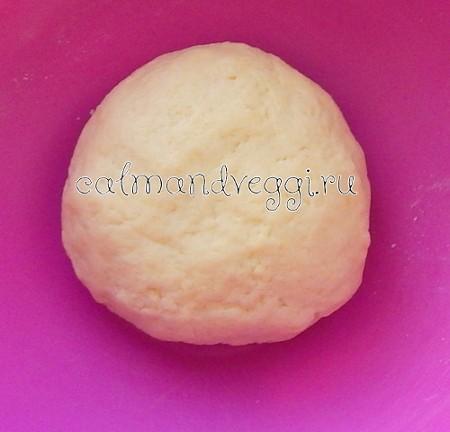 Картофельное тесто без яиц. Рецепт с фото.