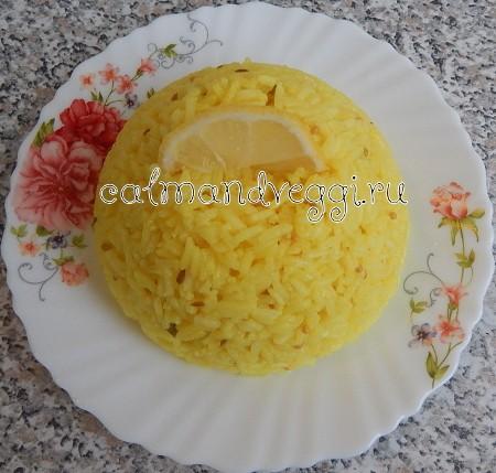 Лимонный рис, пошаговый рецепт с фото
