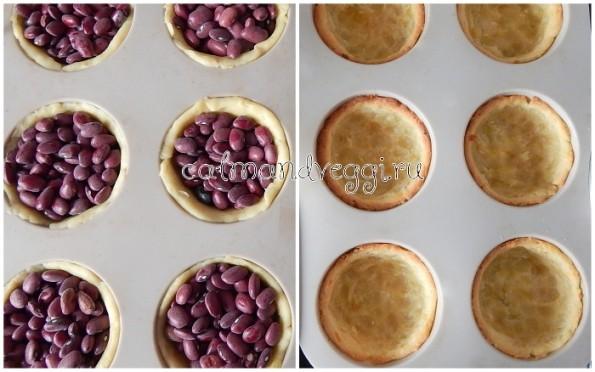 Тесто для тарталеток - рецепта с фото. Начинки.