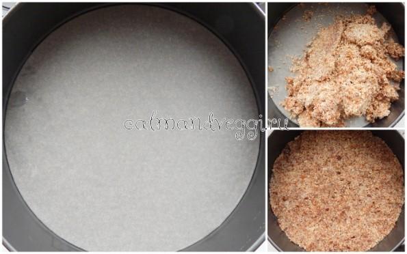 Постный чизкейк на основе кешью с черникой (веганский), пошаговый рецепт с фото