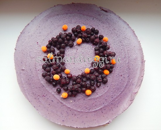 Постный чизкейк без выпечки, пошаговый рецепт с фото