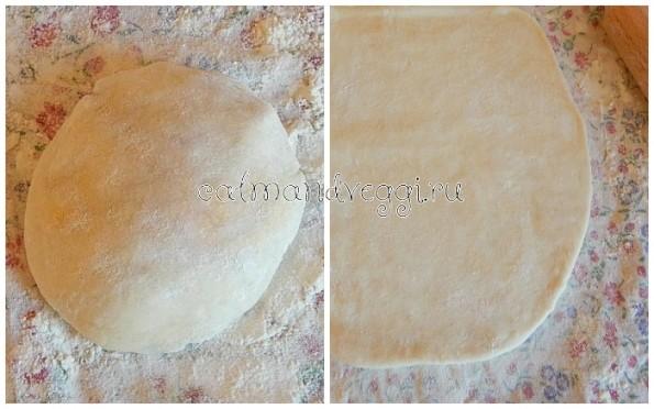 вытяжное тесто без яиц рецепт с фото