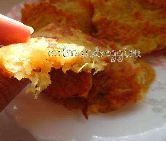 постные картофельные драники