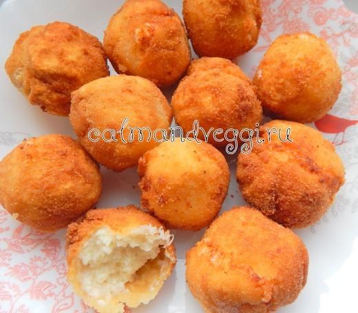 сырные шарики во фритюре рецепт