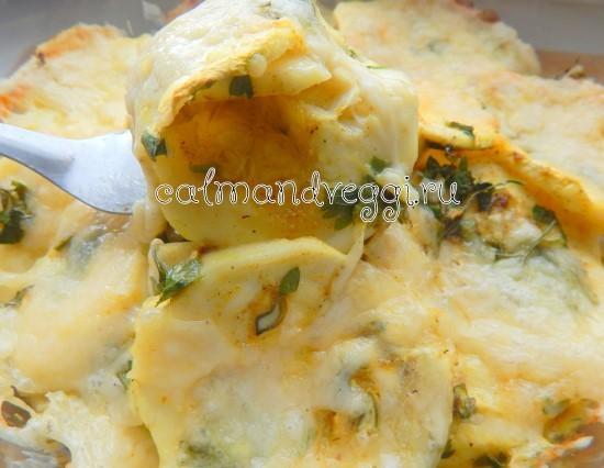 Кабачки под сыром в духовке пошаговый рецепт с фото