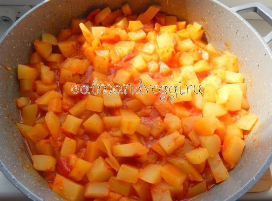 вкусное рагу из кабачков низкокалорийное