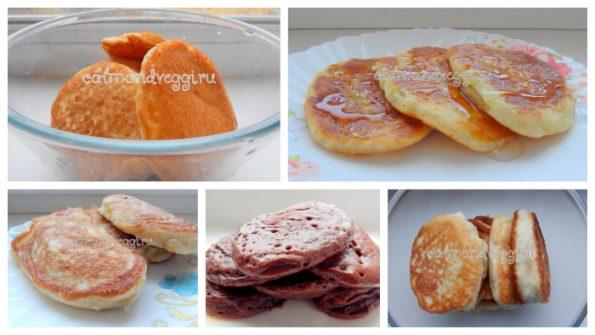 оладьи без яиц вкусные рецепты