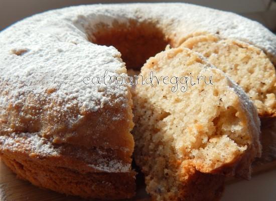 яблочный кекс с корицей рецепт с фото пошагово