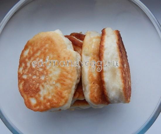 пышные оладьи без яиц на кефире пошаговый рецепт с фото