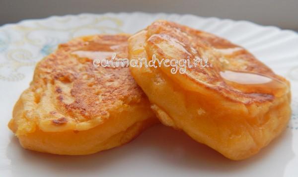 оладьи из тыквы без яиц на кефире пошагово с фото