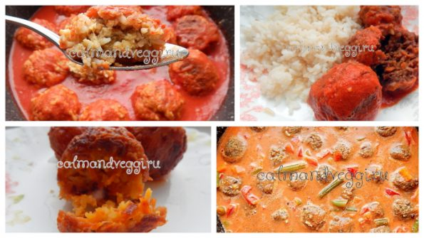 вегетарианские тефтели пошаговый рецепт с фото