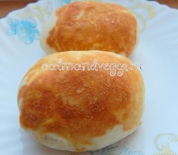 постные дрожжевые пирожки без яиц