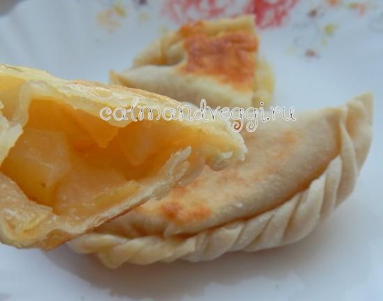 пирожки на тонком тесте пошаговый рецепт с фото