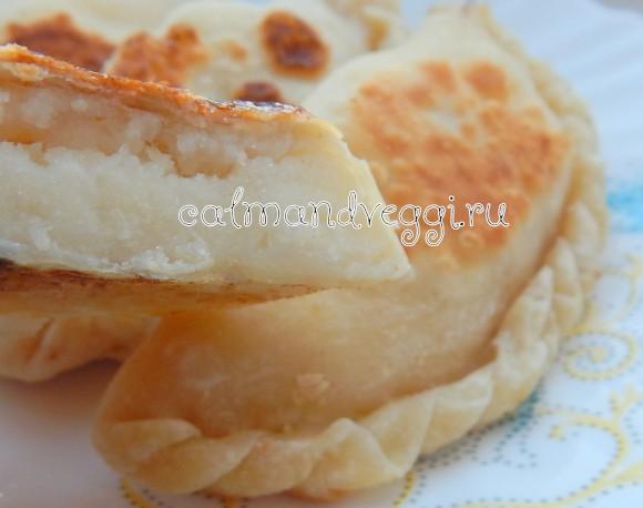 пирожки на тонком тесте с картошкой