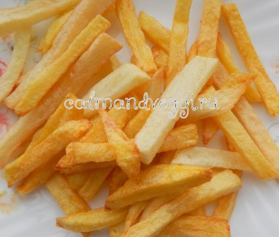 картошка фри в домашних условиях пошаговый рецепт с фото