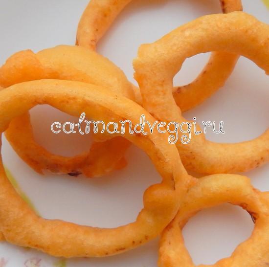 домашние луковые кольца пошаговый рецепт с фото