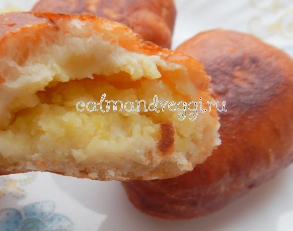 дрожжевые пирожки во фритюре пошаговый рецепт с фото