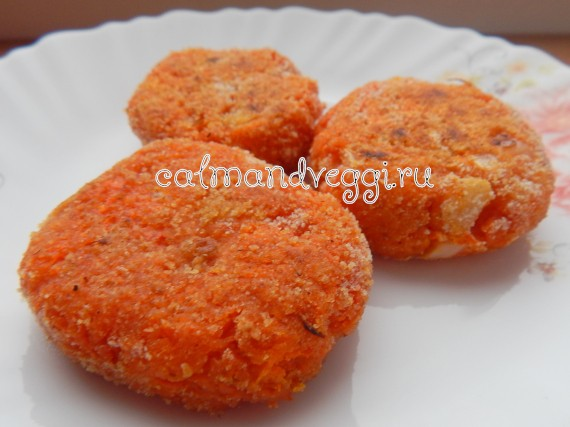 морковные котлеты с манкой пошаговый рецепт с фото