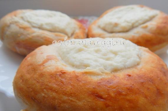 ватрушки с творогом в духовке пошаговый рецепт с фото