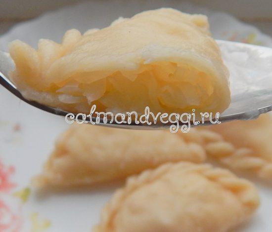 вареники с квашеной капустой пошаговый рецепт с фото