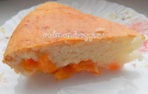 шарлотка с тыквой пошаговый рецепт с фото