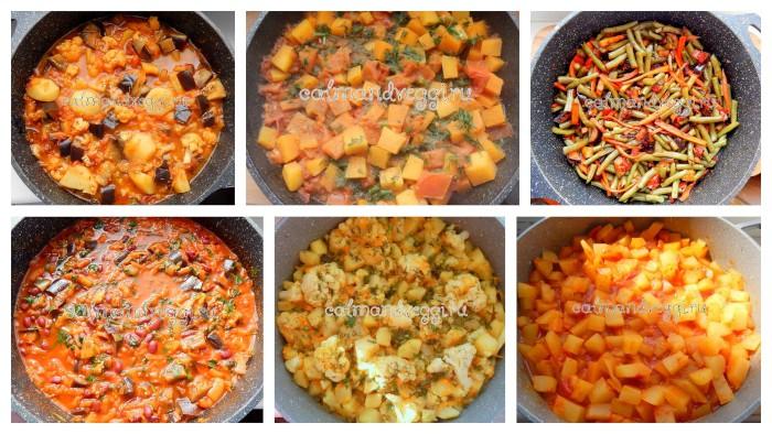 овощное рагу рецепты с фото