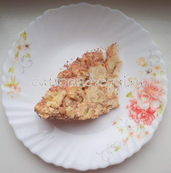 """торт """"Муравейник"""" без яиц"""