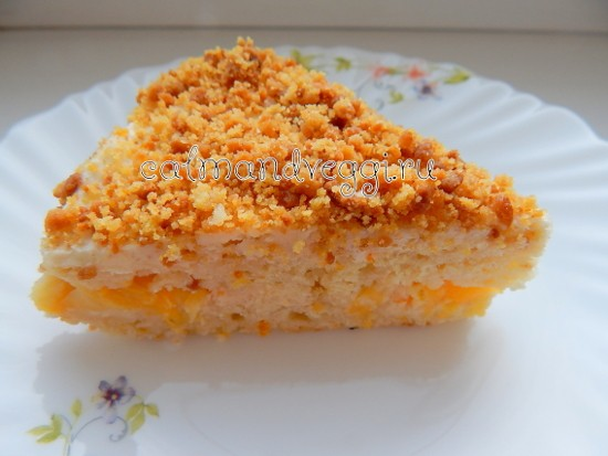 апельсиновый торт без яиц